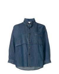 Marni Boxy Fit Shirt Jacket