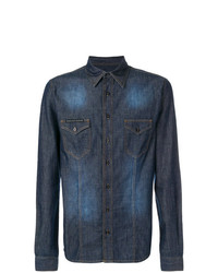 Philipp Plein Denim Shirt