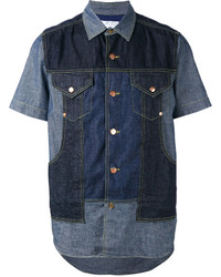 Comme des Garcons Ganryu Denim Panel Shirt