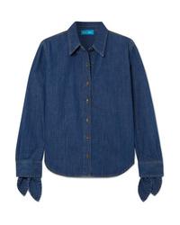 M.i.h Jeans Larsen Tie Detailed Denim Shirt