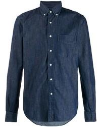 Aspesi Long Sleeved Denim Shirt