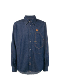Vivienne Westwood Anglomania Loose Fitted Denim Shirt