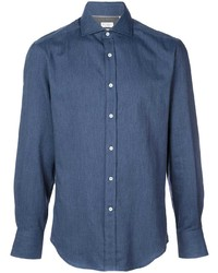Brunello Cucinelli Slim Fit Denim Shirt