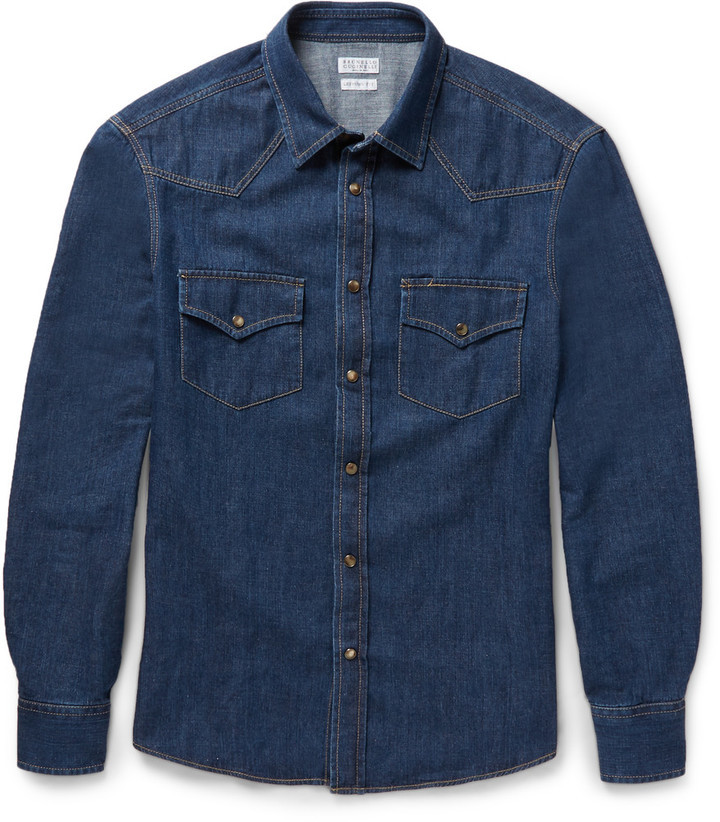 Denim Gap Button Up