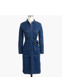 J.Crew Denim Shirtdress