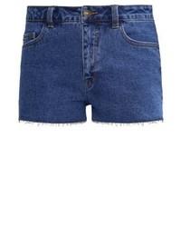 Even&Odd Denim Shorts Dark Blue Denim