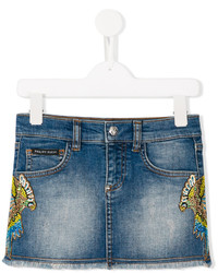 Philipp Plein Junior Jada Denim Skirt
