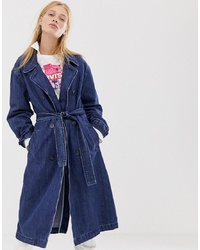 Levi's Denim Trench Coat