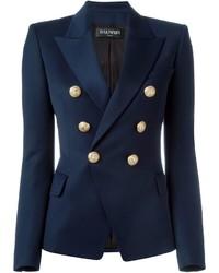 Classic double breasted blazer medium 3639384