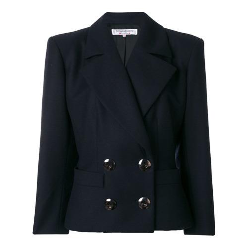 de4c6bd284a Yves Saint Laurent Vintage Double Breasted Blazer, £354 | farfetch ...