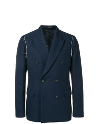 Alexander McQueen Double Breasted Fitted Blazer