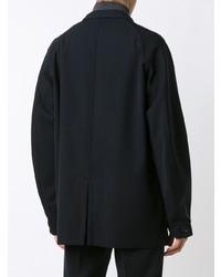 Kolor Double Breasted Jacket Blue
