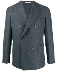 Boglioli Double Breasted Straight Fit Blazer