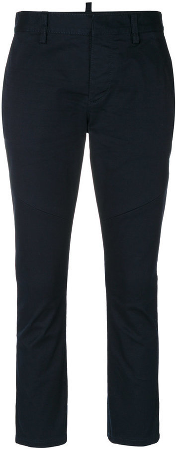Dsquared2 Cropped Cigarette Trousers