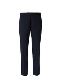 Berluti Navy Wool Suit Trousers