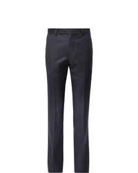 Wacko Maria Slim Fit Striped Wool Trousers