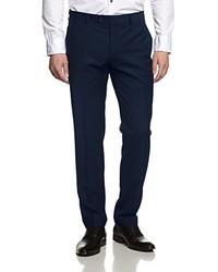 Suit Trousers Blue Blau 90