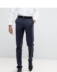 ASOS DESIGN Tall Slim Tuxedo Suit Trousers In Navy
