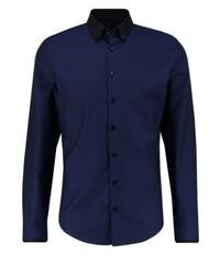Slim fit formal shirt dunkelblau medium 4209687