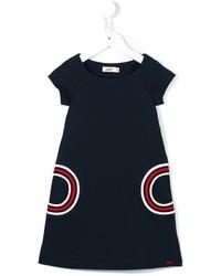 Junior Gaultier Ribbed Pocket Dress