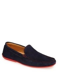 Navy driving shoes original 551718
