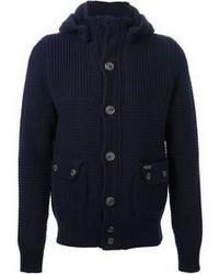 Knitted duffle coat medium 98731