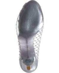 Adrianna Papell Zandra Crystal Embellished Peep Toe Pump