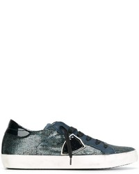 Philippe Model Sequin Embellished Sneakers