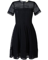 MICHAEL Michael Kors Michl Michl Kors Embroidered Flared Dress