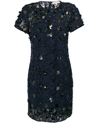 MICHAEL Michael Kors Michl Michl Kors Sequin Applique Lace Shift Dress