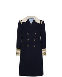 Gucci Admiral Wool Cashmere Blend Top Coat