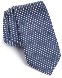 BOSS Embroidered Silk Blend Tie