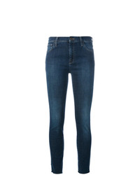 Gucci Embroidered Skinny Jeans