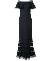 Tadashi Shoji Off Shoulders Gown