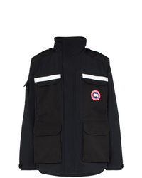 Canada Goose Photojournalist Logo Patch Hooded Jacket