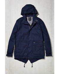 Navy Fishtail Parka