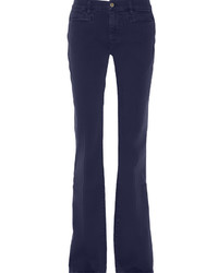 Navy Flare Jeans
