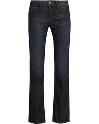 Frame Le Crop Mini Boot Mid Rise Jeans