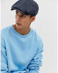 Ted Baker Treacle Baker Boy Cap In Blue