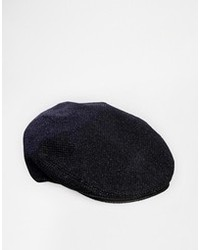 Wovenin flat cap navy medium 95562