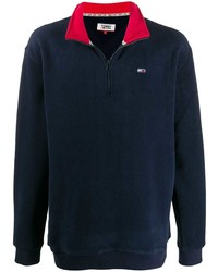 Tommy Jeans Zipped Fleece Jumper