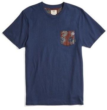 0238d917bb134c ... Vans Floral Pocket T Shirt ...