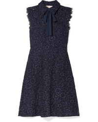 MICHAEL Michael Kors Pussy Bow Corded Lace Dress