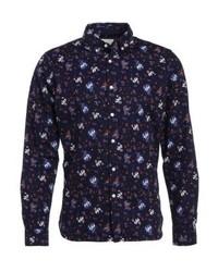 Flower shirt peacoat medium 3777331
