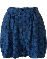 JULIEN DAVID Embroidered Floral Shorts