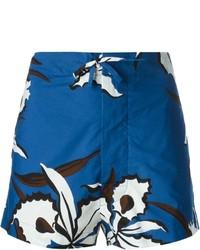 Marni Floral Print Shorts