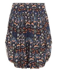 Chloé Pleated Floral Print Tte Shorts