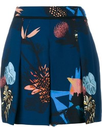 Proenza Schouler Pleated Printed Shorts