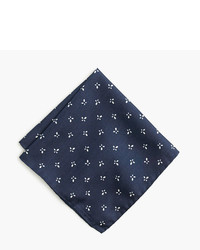 J.Crew Italian Silk Pocket Square In Floral
