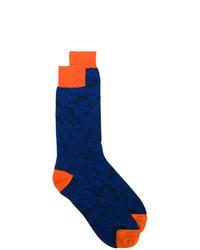 Etro Floral Print Socks